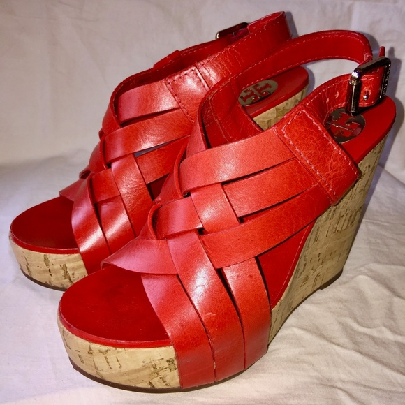 Tory Burch Shoes - Tory Burch Ace Wedge Sandals